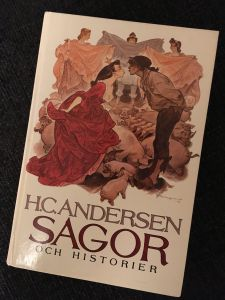 Boken H.C.Andersen Sagor och historier, i urval och översättning av Åke Holmberg